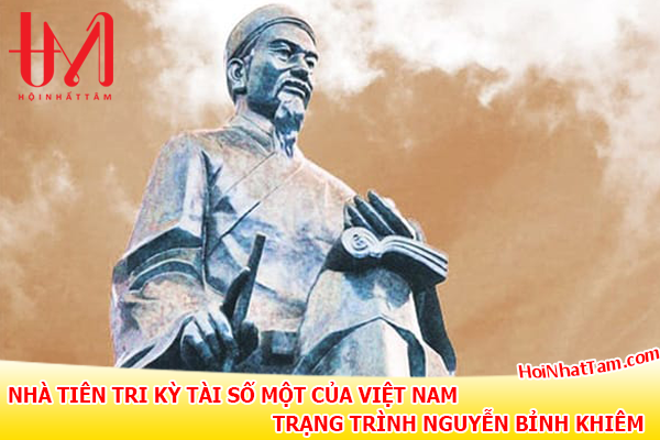 Nha Tien Tri Ky Tai So Mot Viet Nam Trang Trinh Nguyen Binh Khiem2