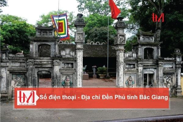 Điện thoại - Địa chỉ các Đền Phủ tỉnh Bắc Giang