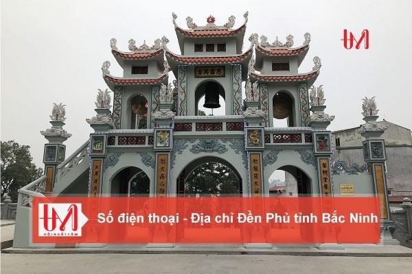 Điện thoại - Địa Chỉ các Đền Phủ tỉnh Bắc Ninh