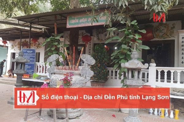 Điện thoại - Địa chỉ các Đền Phủ tỉnh Lạng Sơn