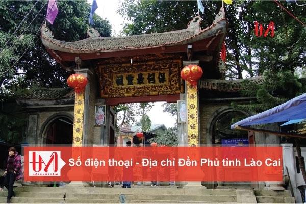 Điện thoại - Địa Chỉ các Đền Phủ tỉnh Lào Cai
